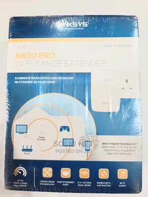 Linksys N600 Dual Band Wifi Range Extender   Networking Products for sale in Lagos State, Ikeja