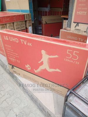 55 Inches LG Smart Tv 4k | TV & DVD Equipment for sale in Lagos State, Ojo