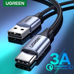 Ugreen 3A Type-C /Micro Cable 1M   Accessories for Mobile Phones & Tablets for sale in Bayelsa State, Yenagoa