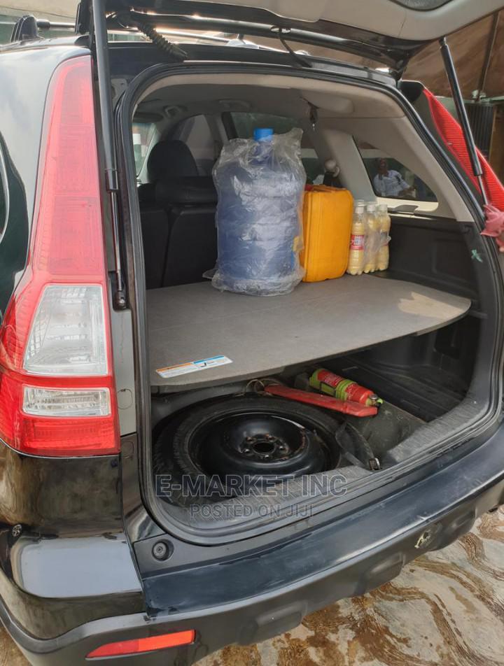 Honda CR-V 2008 2.4 EX-L 4x4 Automatic Black   Cars for sale in Ibadan, Oyo State, Nigeria