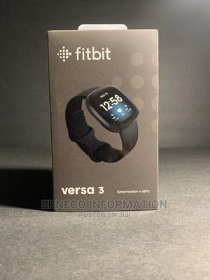 Fitbit Versa 3 Health and Fitness Smartwatch   Smart Watches & Trackers for sale in Lagos State, Ikeja