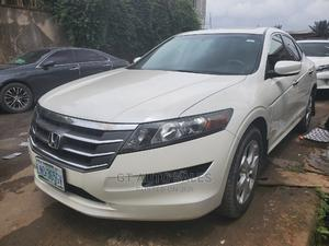 Honda Accord CrossTour 2010 EX-L AWD White   Cars for sale in Lagos State, Ikeja