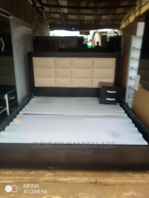 6by6 Bedframe With One Side Bed | Furniture for sale in Abuja (FCT) State, Lugbe District