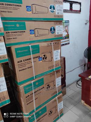 ✓ Hisense AC 1.5-Hp Split Inverter R410A Fast Cooling   Home Appliances for sale in Lagos State, Apapa