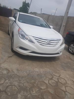 Hyundai Sonata 2011 White | Cars for sale in Lagos State, Ogba