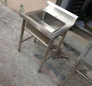 Single Bowl Washing Sink | Restaurant & Catering Equipment for sale in Lagos State, Ojo