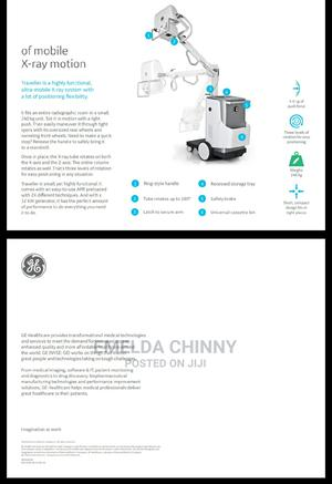 GE Traveller Mobile X-Ray Machine | Medical Supplies & Equipment for sale in Lagos State, Ajah