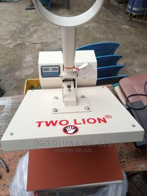 TWO LION Heat Transfer/ Press Stoning Machine 38cm   Printing Equipment for sale in Lagos State, Mushin