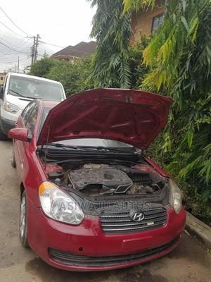 Hyundai Accent 2007 1.6 Red | Cars for sale in Lagos State, Ikeja