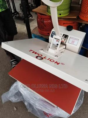 TWO LION Heat Transfer/Press Stoning Machine 82cm   Printing Equipment for sale in Lagos State, Mushin
