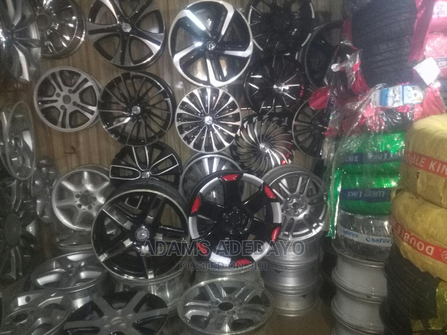 Archive: Tokunbo Alloy and Brand New Alloy With Tyre