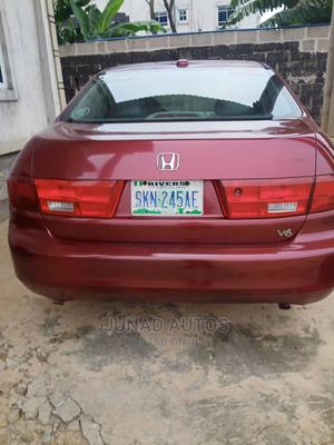 Honda Accord 2005 Automatic Red | Cars for sale in Rivers State, Port-Harcourt