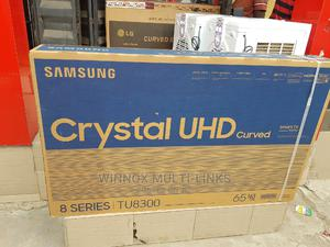 Samsung 65 Inches Curved Smart Tv   TV & DVD Equipment for sale in Lagos State, Ajah