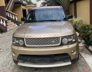 Land Rover Range Rover Sport 2013 Gold | Cars for sale in Lagos State, Ikeja