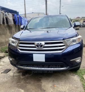 Toyota Highlander 2013 Limited 3.5l 4WD Blue | Cars for sale in Abuja (FCT) State, Garki 2