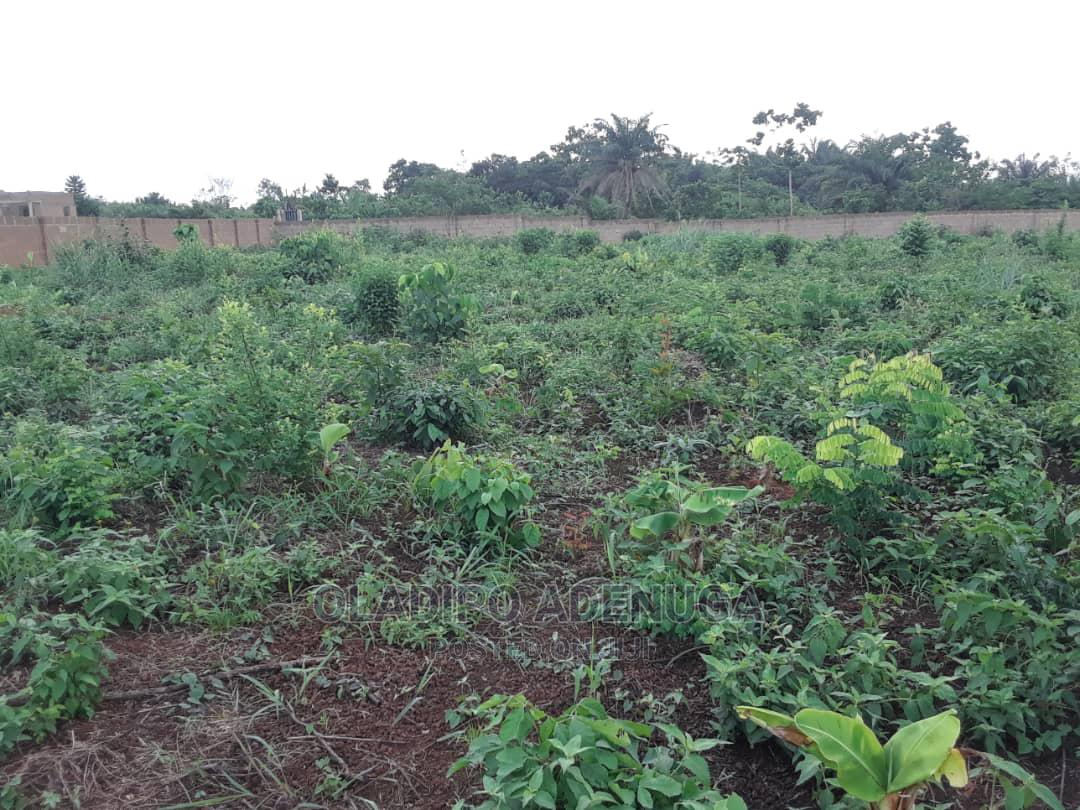 5 Acres of Fenced Land on Lagos Ibadan Expressway