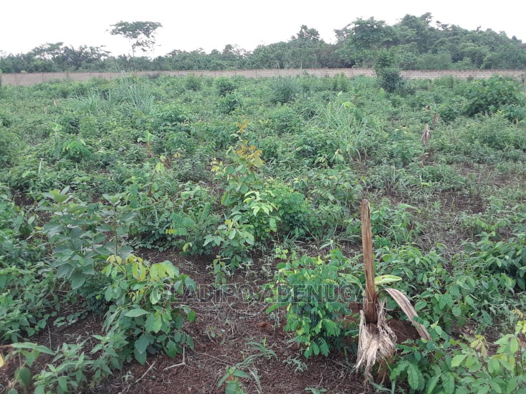 5 Acres of Fenced Land on Lagos Ibadan Expressway   Land & Plots for Rent for sale in Sagamu, Ogun State, Nigeria