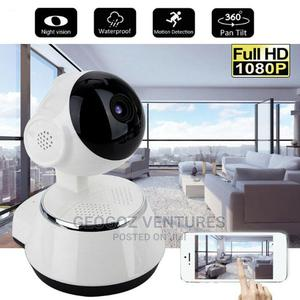 Smart Wifi Full HD Surveillance IP Camera   Security & Surveillance for sale in Lagos State, Ikeja