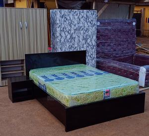 4,1/2 by 6fts Bed With Mattress. | Furniture for sale in Lagos State, Ikorodu