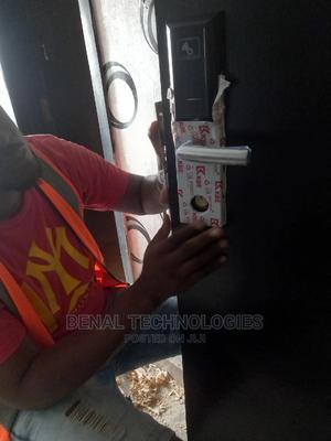 Hotel Card/ Fingerprint / Password Door Locks by Benal. | Doors for sale in Enugu State, Enugu