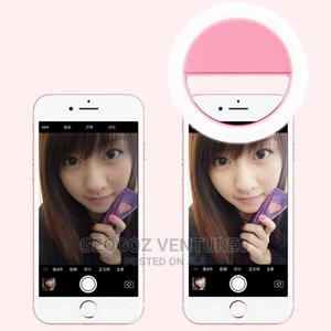 Mini Mobile Phone Selfie Ring Light | Accessories for Mobile Phones & Tablets for sale in Lagos State, Ikeja