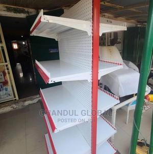 Double Sided Supermarket Shelf | Furniture for sale in Lagos State, Alimosho