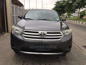 Toyota Highlander 2013 Gray   Cars for sale in Lagos State, Surulere