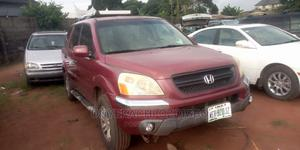 Honda Pilot 2003 EX-L 4x4 (3.5L 6cyl 5A) Red | Cars for sale in Imo State, Owerri