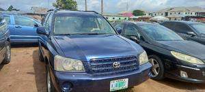 Toyota Highlander 2001 3.0 Blue   Cars for sale in Abuja (FCT) State, Jabi