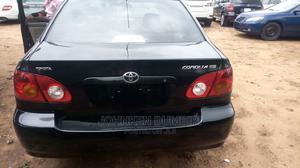 Toyota Corolla 2004 Sedan Automatic Black | Cars for sale in Delta State, Aniocha North