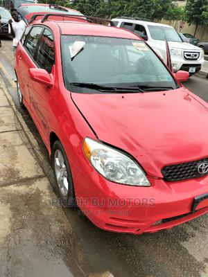 Toyota Matrix 2003 Red | Cars for sale in Lagos State, Ogba