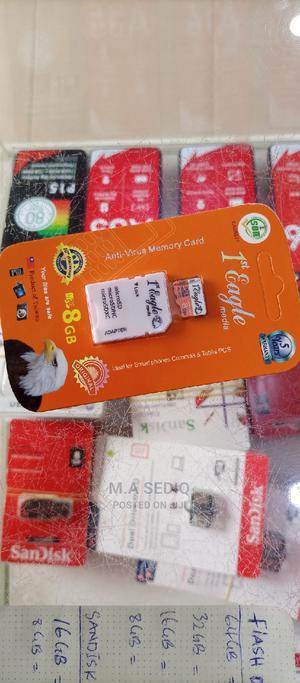 Memory Card Eagle 8GB   Accessories for Mobile Phones & Tablets for sale in Kaduna State, Kaduna / Kaduna State