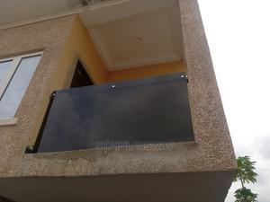 Frameless Dark Grey Glass 002   Building Materials for sale in Abuja (FCT) State, Durumi