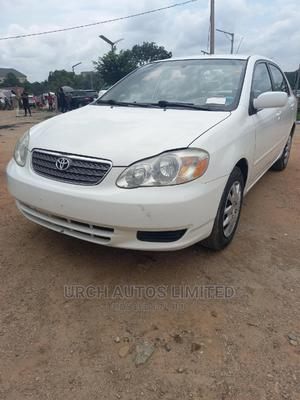 Toyota Corolla 2003 Sedan Automatic White | Cars for sale in Abuja (FCT) State, Wuse 2