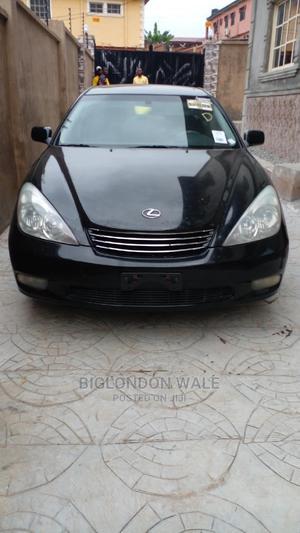 Lexus ES 2002 300 Black | Cars for sale in Lagos State, Ikorodu