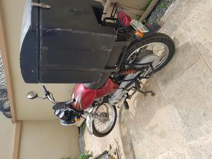 Bajaj Boxer 2019 Red   Motorcycles & Scooters for sale in Abuja (FCT) State, Jahi