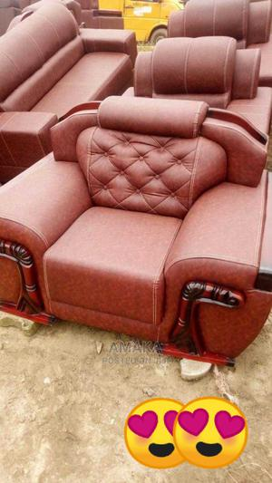 Leather Sofa Chair | Furniture for sale in Lagos State, Victoria Island