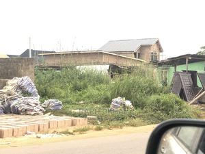 200x175ft Land and Small House for Sale   Land & Plots For Sale for sale in Edo State, Ikpoba-Okha