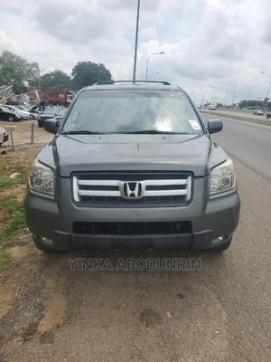 Honda Pilot 2007 EX 4x2 (3.5L 6cyl 5A) Gray   Cars for sale in Abuja (FCT) State, Central Business District