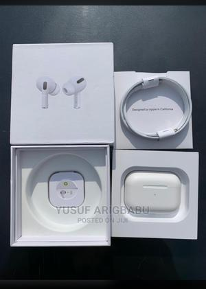 Uk Used Airpod Pro + Pouch   Headphones for sale in Lagos State, Ikeja