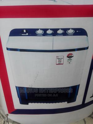 Hisense 7kg Twin Tub Wash/Spin Washing Machine | Home Appliances for sale in Lagos State, Gbagada