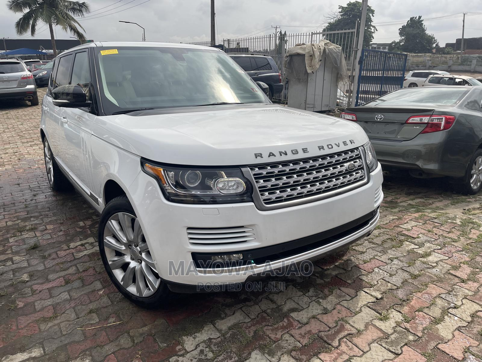 Land Rover Range Rover Vogue 2014 White | Cars for sale in Ojodu, Lagos State, Nigeria