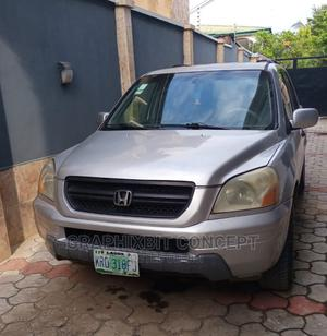 Honda Pilot 2004 EX 4x4 (3.5L 6cyl 5A) Silver   Cars for sale in Lagos State, Ikeja