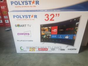 Polystar Curved Smart Tv 32 Inches | TV & DVD Equipment for sale in Lagos State, Isolo