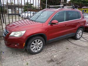 Volkswagen Tiguan 2009 2.0 SE Red   Cars for sale in Lagos State, Ajah