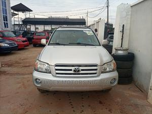 Toyota Highlander 2004 Limited V6 4x4 Silver | Cars for sale in Kwara State, Ilorin South