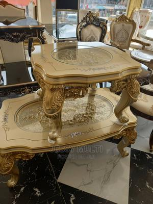 Marble Center Table and Side Stool | Furniture for sale in Lagos State, Ojo