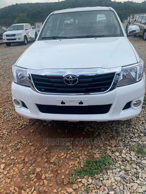 Toyota Hilux 2015 SR 4x4 White | Cars for sale in Abuja (FCT) State, Gwarinpa