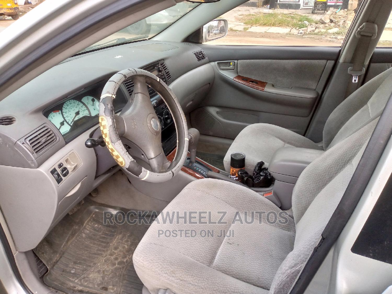 Toyota Corolla 2004 LE Silver | Cars for sale in Yaba, Lagos State, Nigeria
