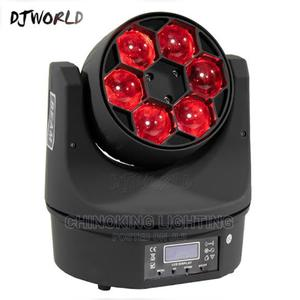 New Rotating RGBW 4 In 1 Mini Bee Eye LED Moving Head | Stage Lighting & Effects for sale in Lagos State, Ojo